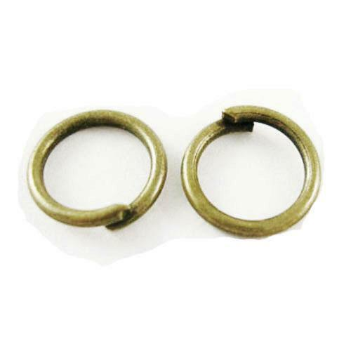 Antique Bronze Plated Iron Round Open Jump Rings 0.7x5mm HA02223 Packet 750