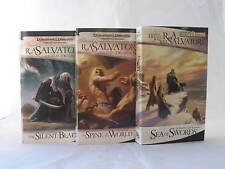 Paths of Darkness / Legend of Drizzt 11-13 by R.A. Salvatore (Mass Market PB)