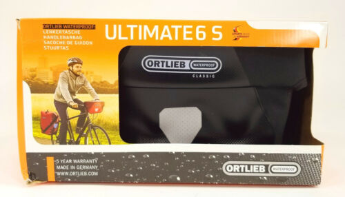 Ortlieb Ultimate6 S Classic Bicycle Handlebar Bag Waterproof