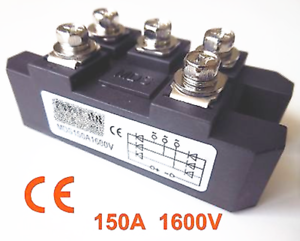 New 1pc MDS150A 3-Phase Diode Bridge Rectifier 150A Amp 1600V CE Certification