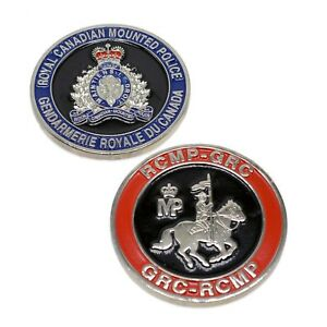 RCMP-Police-Challenge-Coin-Royal-Canadian-Mounted-Police-Crest-GRC-Silver
