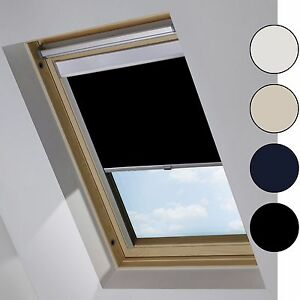 verdunkelungsrollo passend f r velux dachfenster. Black Bedroom Furniture Sets. Home Design Ideas