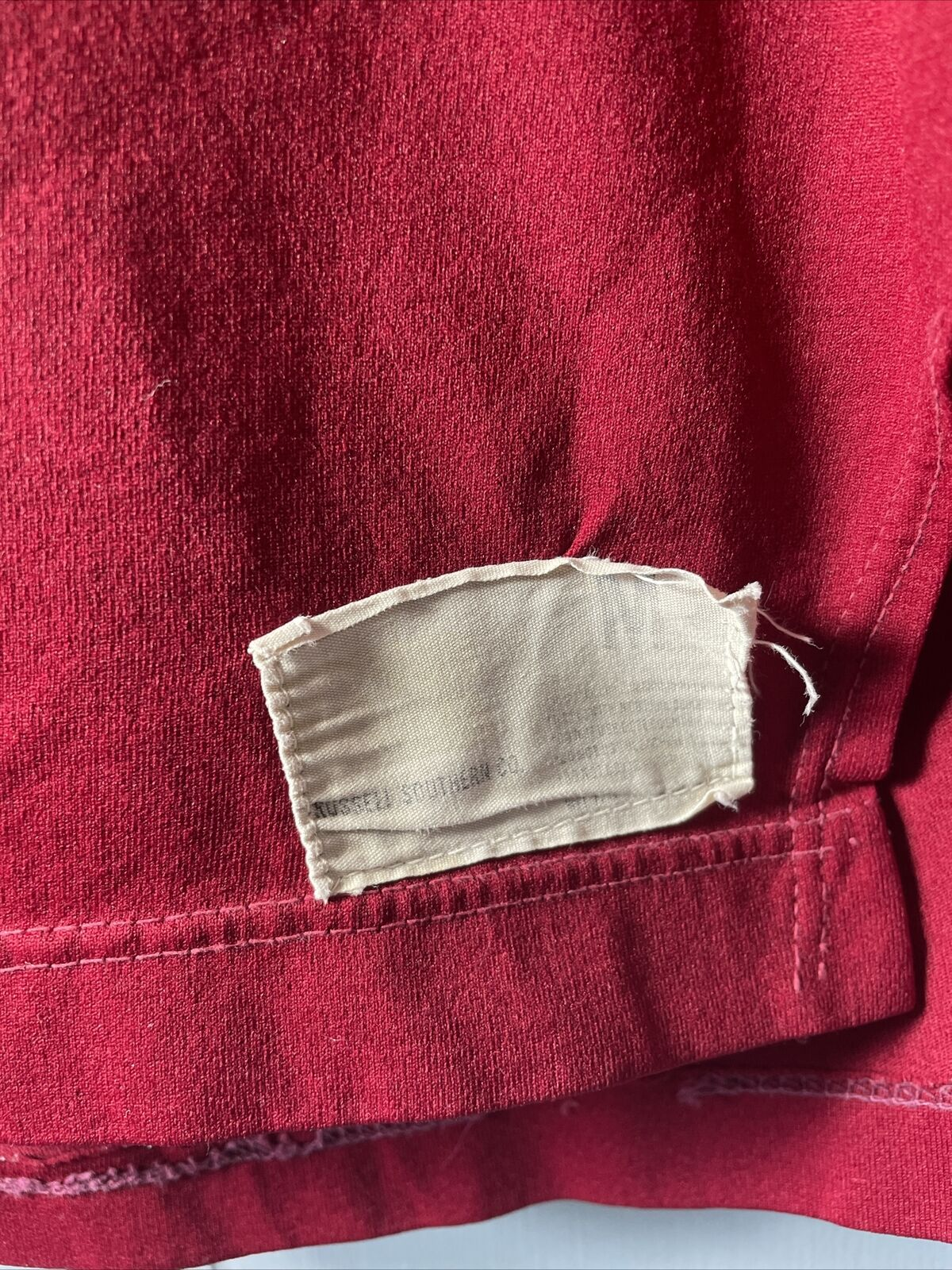 VTG 70's Russell Athletic Red Football Jersey #21… - image 3