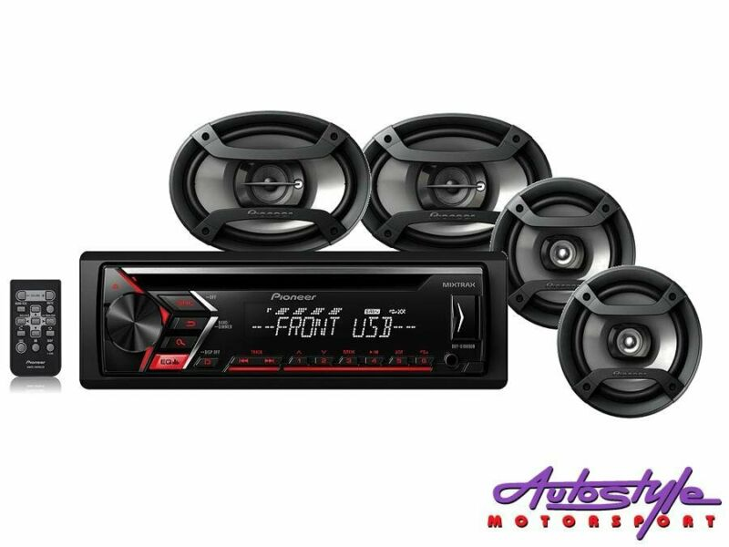 Pioneer DXT-S1069UB Mp3 Cd Player with USB plus Speaker Combo Audio Receiver with MIXTRAX