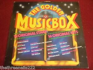 VINYL LP - THE GOLDEN MUSIC BOX - VARIOUS ARTISTS - 34559 5