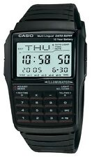 Casio DBC32-1A Men's Classic Resin Band 25 Page Databank Calculator Watch