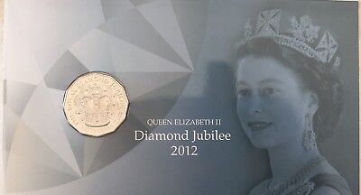 PNC Australia 2012 QEII Diamond Jubilee RAM 50c Commemorative Coin