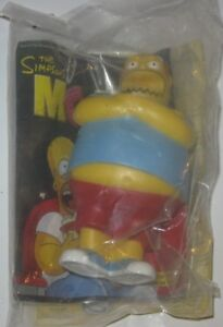 2007 The Simpsons Movie Burger King Kids Meal Toy Comic Book Guy Ebay