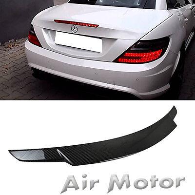 SLK250 SLK350 SLK55 A Type Trunk Boot Spoiler Wing Carbon Fiber M-Benz R172 11