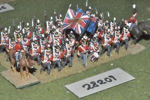 25 mm napoléoniens / britanniques - Ligne 36, figures Inf (28209)
