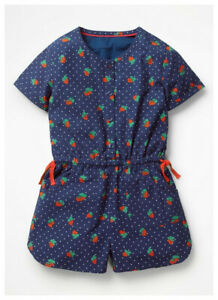 Girls-Play-Suit-Strawberry-Navy-NEW-Ex-Boden-Age-2-16-Years-RRP-24-28
