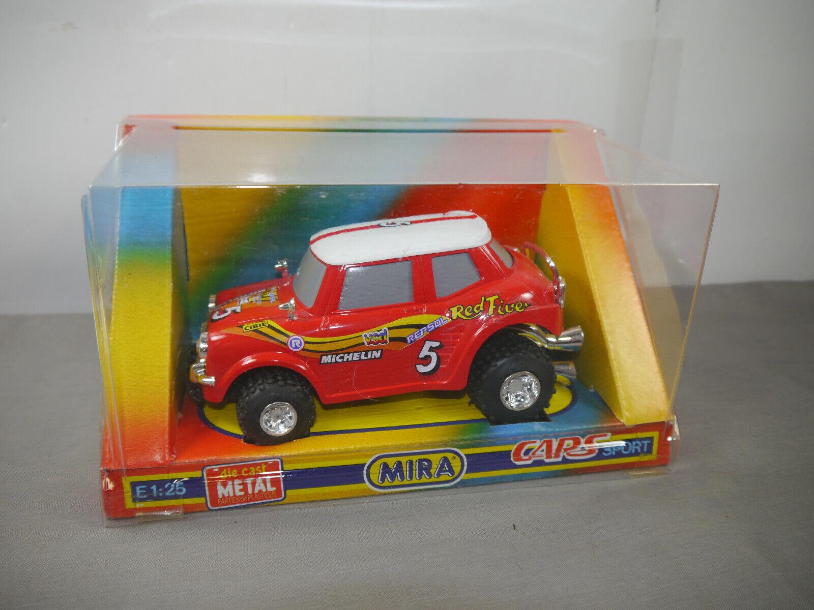 Mira Mini Cooper Racing Cars Sport 1 25 25 25 con Conf. Orig. (K16) c2e7e0