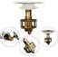 1pc Universal wash basin bounce drain filter,Pop Up Bathroom Sink Drain Plug