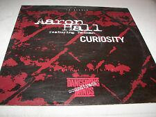 "AARON HALL CURIOSITY REDMAN 12"" Single NM MCA8P-3564 1995 PROMO"