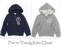 77kids By American Eagle Girls Size 3 Or 4 Years Zip-up Hoodie Sweatshirt