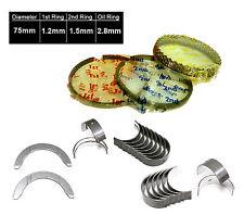 88-95 Honda Civic CRX 1.5L D15B1 D15B2 D15B7 SOHC Piston Rings Main Rod Bearings