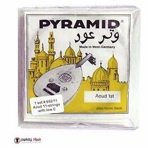 Oud-Cuerdas-Amarillo-Etiqueta-Conjunto-De-11-Pyramid-Cuerdas-652-11-Con-Bajo