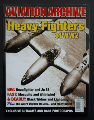 22520// KEY Aviation Archive Heavy Fighters of World War 2 No 25