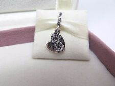 New w/Box & Tags Pandora Forever Friends w/ Infinity & Heart Charm #791948CZ