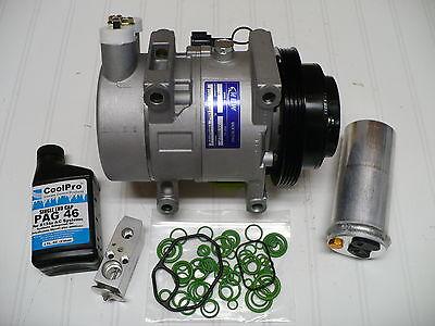 New A//C AC Compressor Kit Fits 2001-2003 QX4 3.5L