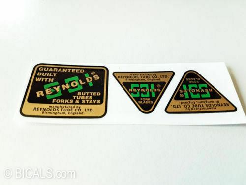 REYNOLDS 531 later version decal sticker free shipping silk screen