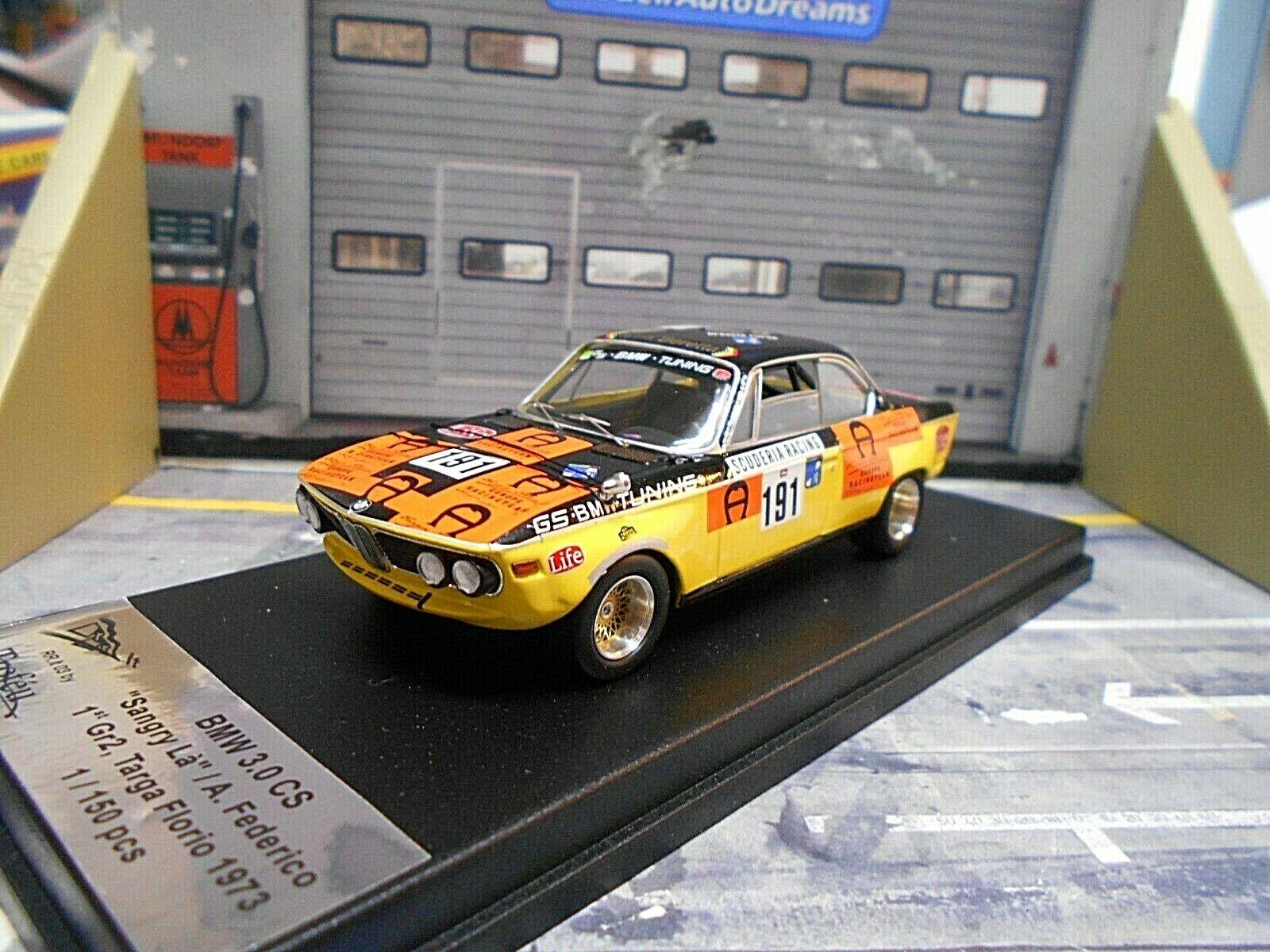 BMW 3.0 CS CSI Coupe GS Tuning Targa Florio  191 1973 Scuderia Beret Scala 1 43