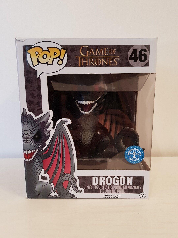 Pop  Juego of thrones - Drogon 6'' exclusive