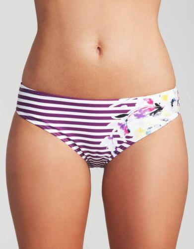 Ladies VIOLA FLOREALE Slip Bikini Dolly Stripe Figleaves Swimwear Nuovo