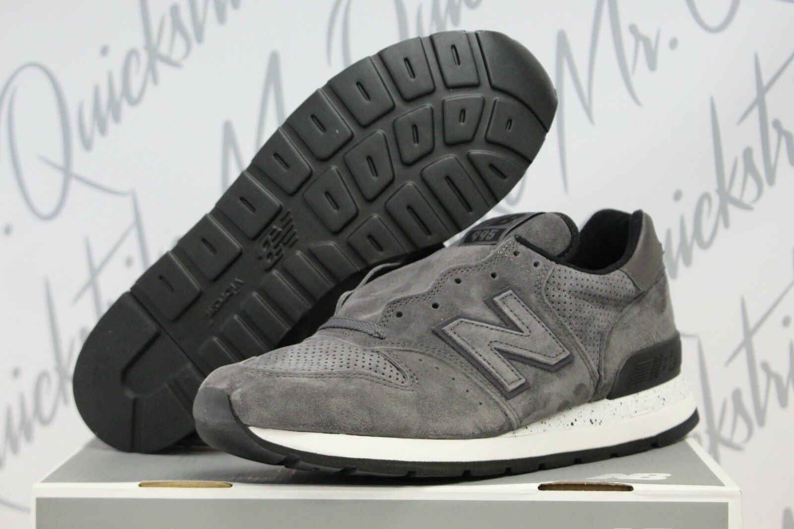 NEW BALANCE 995 SZ 8-13 MADE IN USA NORTHERN LIGHTS PACK BLACK GREY M995SYG