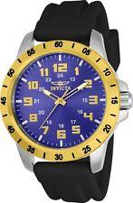 Invicta 21841 Men's Quartz Blue Dial Blue Polyurethane Band Watch