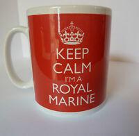 Keep Calm I'm a Royal Marine Commando Gift Mug Any Colour Personalised For Free