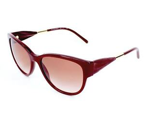 bb94f838c9ce Burberry Women s Sunglasses B 4190 3403 13 Red Authentic New in Box ...