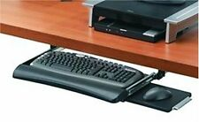 Underdesk Keyboard Drawer W/ Mouse Tray Height Adjustable Save Office Workspace