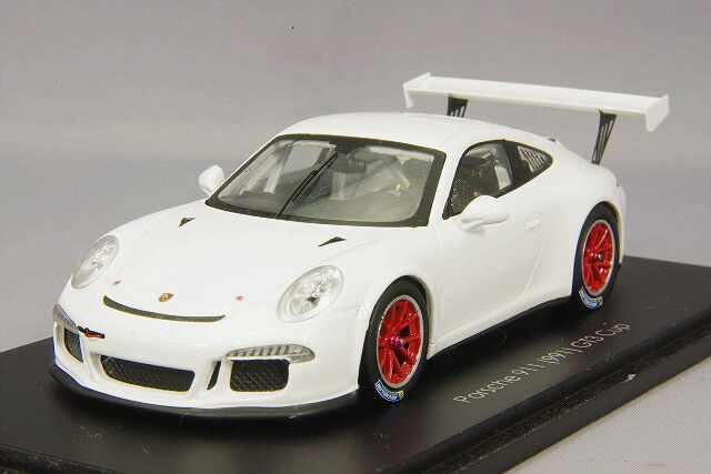 Spark Spark Spark 1 43 Porsche 911 (991) GT6 Cup White Red Rim Japan Edition from Japan 799a75