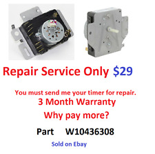 W10436308 Dryer Timer Whirlpool Kenmore Roper WPW10436308 - Repair Service