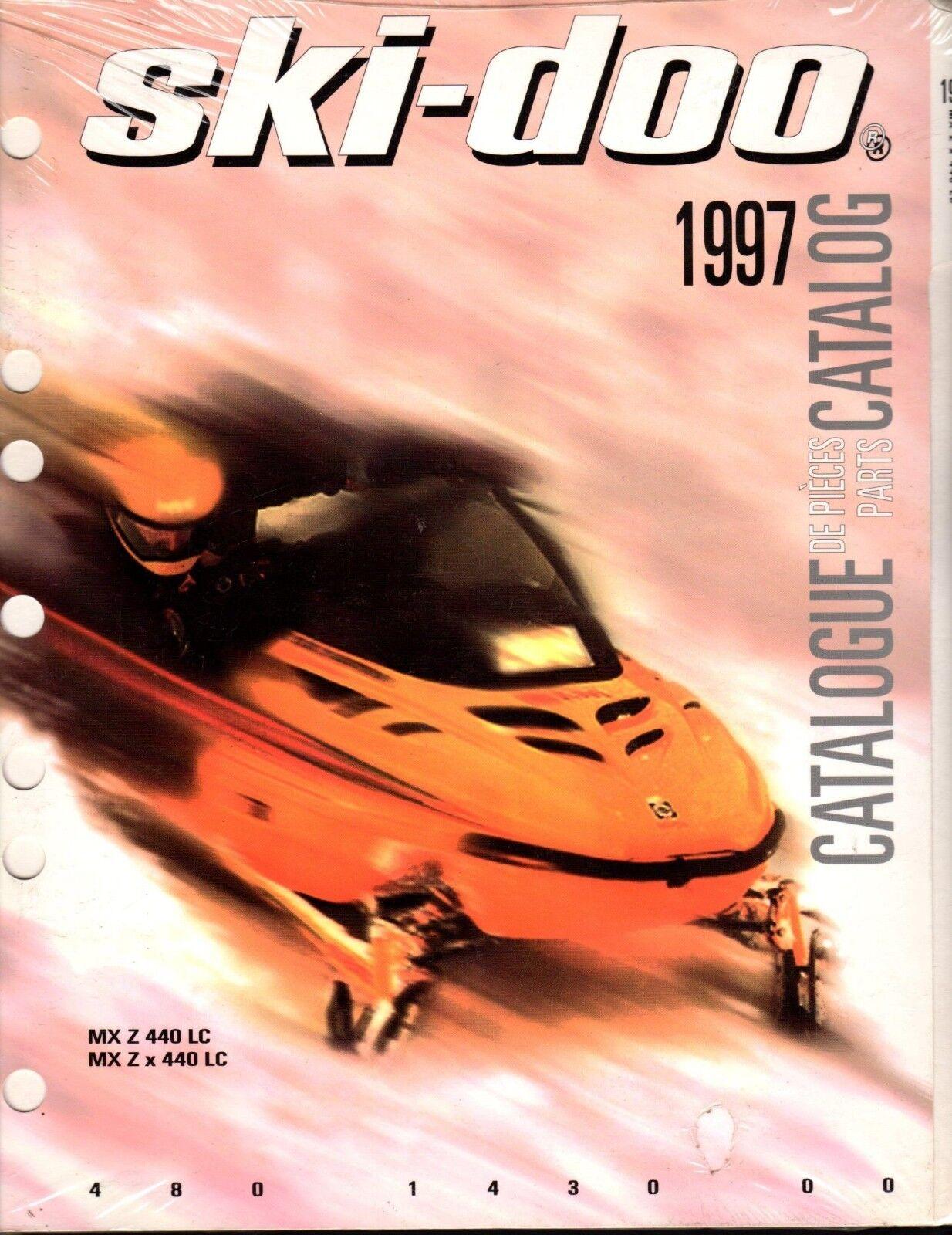 1997 SKI-DOO MX Z 440 LC & MX Z X 440 LC  PARTS MANUAL P N 480 1430 00  (419)