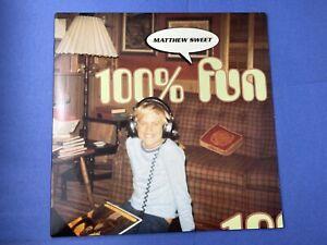 Matthew-Sweet-100-FUN-LP-Vinyl-Record-Album-1995-BMG-Records-Rock-W-Insert