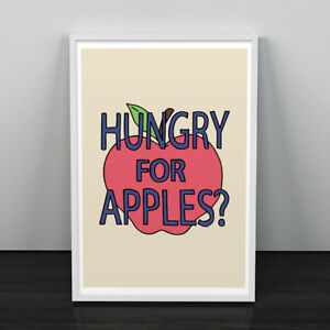 Details about Rick and Morty - Hungry for Apples Poster Print - 8x10 11x14  11x17 TV Shows