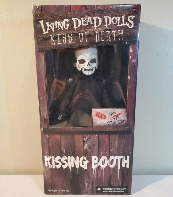 Living Dead Dolls Kiss of Death Kissing Booth Grim Reaper - Mezco - NEW SEALED!!