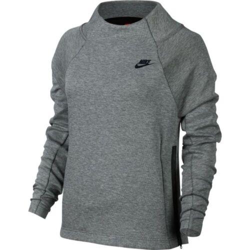 longues polaire Gris col Taille Nike en Tech Sm cheminée 091 Haut à à manches 885035 08wNknOPX