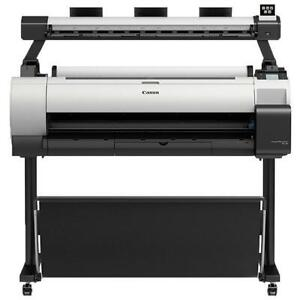 $67/month Lease 2 Own Canon NEW imagePROGRAF TA-30 TA30 36 Wide Large Printer Wifi Plotter Color with optional Scanner Canada Preview