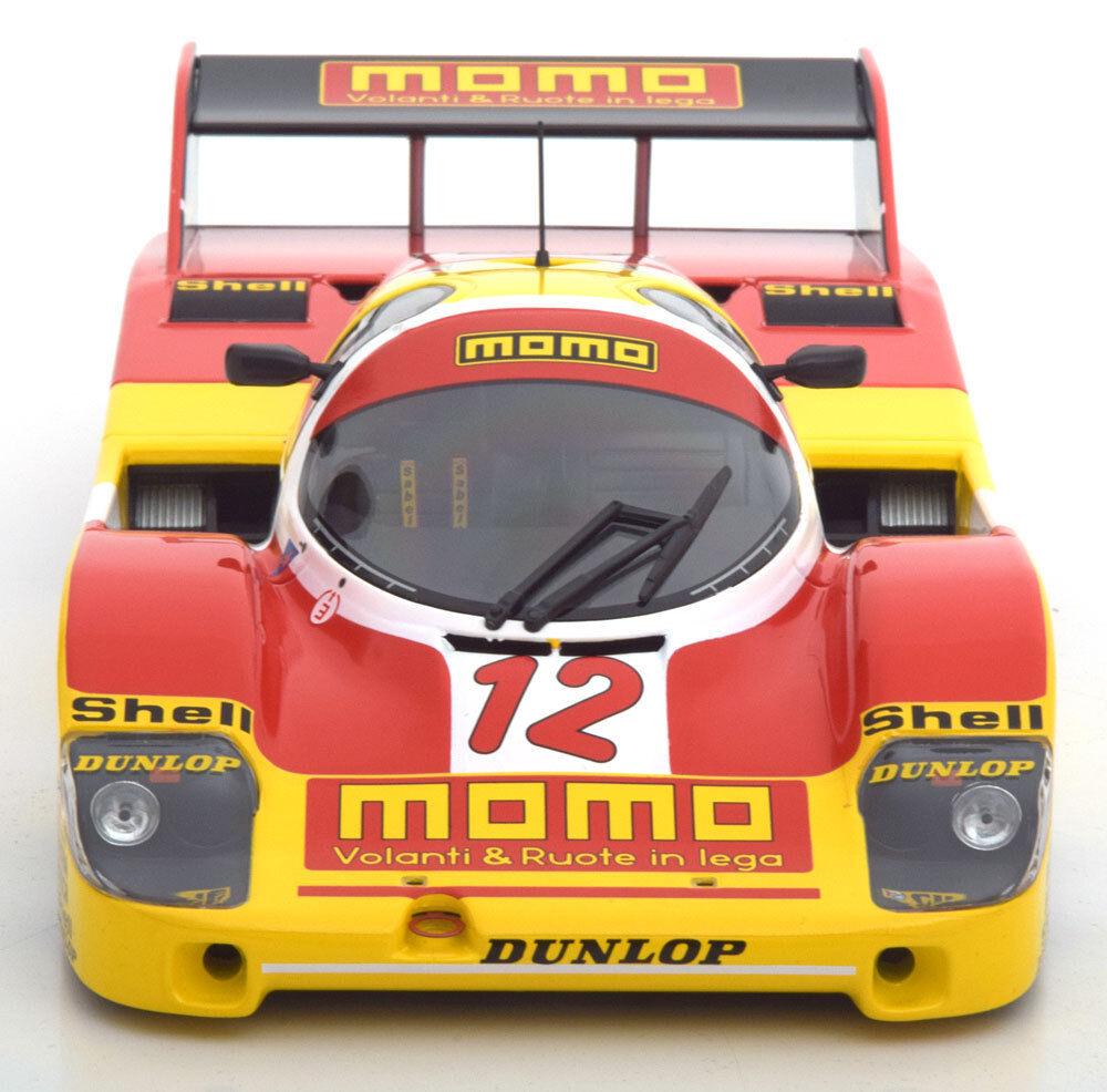 Nuevo 1 18 Minichamps 1983 Porsche 956K Momo, Dieter Schornstein Racing