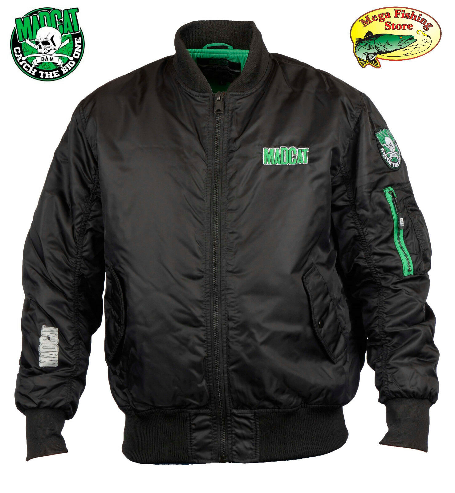 Madcat Bomber Giacca termoOutdoor & TEMPO LIBERO ANGEL Giaccapescatore Bomber Giacca