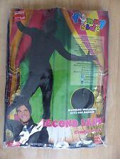 "Neuer Smiffys ""Second Skin Suit, Black"" zweite Haut Kostüm Gr XL NEU/OVP"