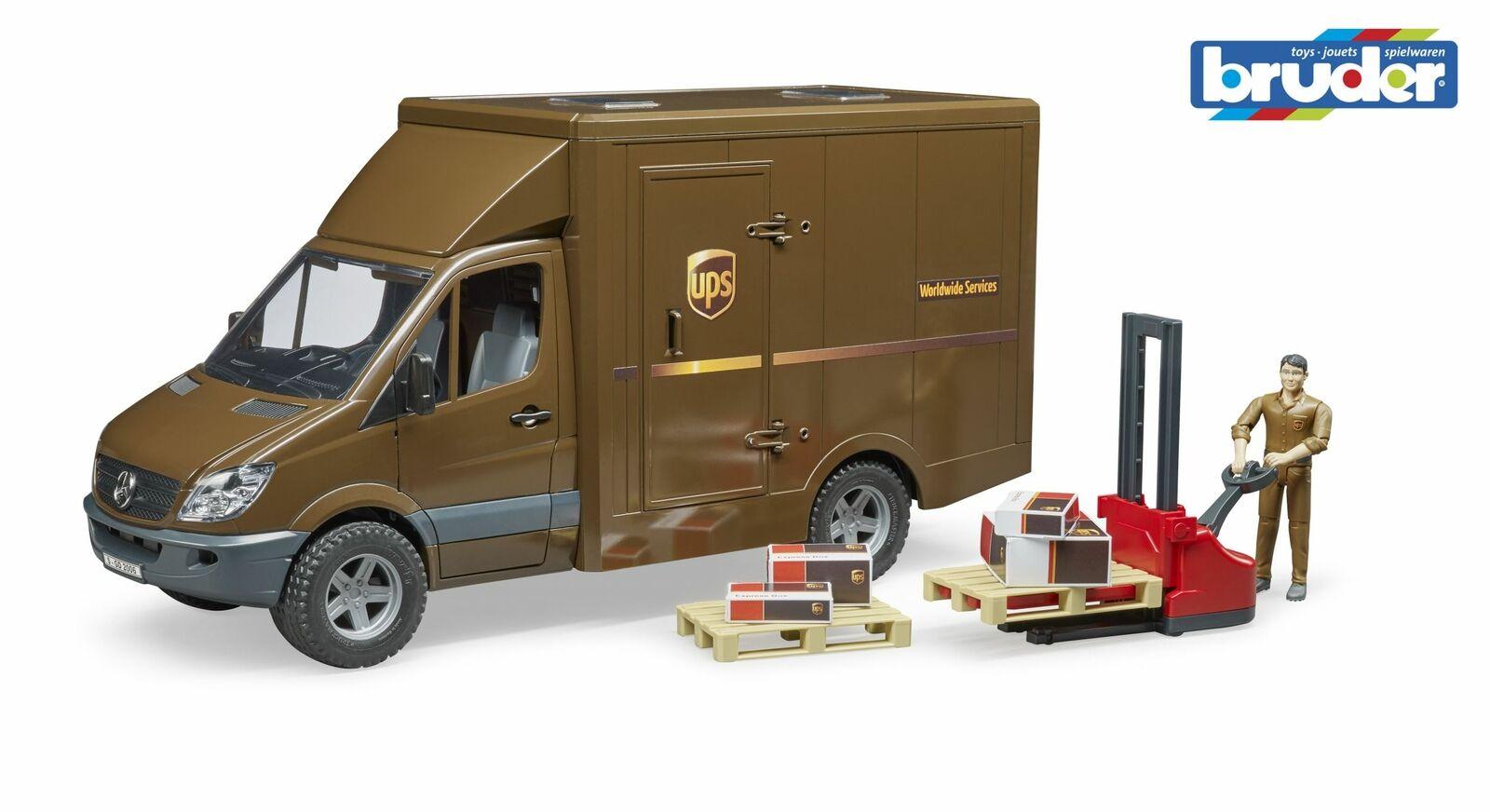Mercedes Benz Sprinter Van UPS-Bruder 02538 escala 1 16 Nuevo