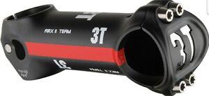 3T-Arx-Team-Road-Stem-120-17-31-8mm-Clamp-1-1-8-034-Black-Red-Alloy-Arx-NEW