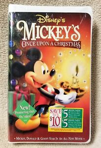image is loading walt disney mickey 039 s once upon a - Mickeys Once Upon A Christmas Vhs