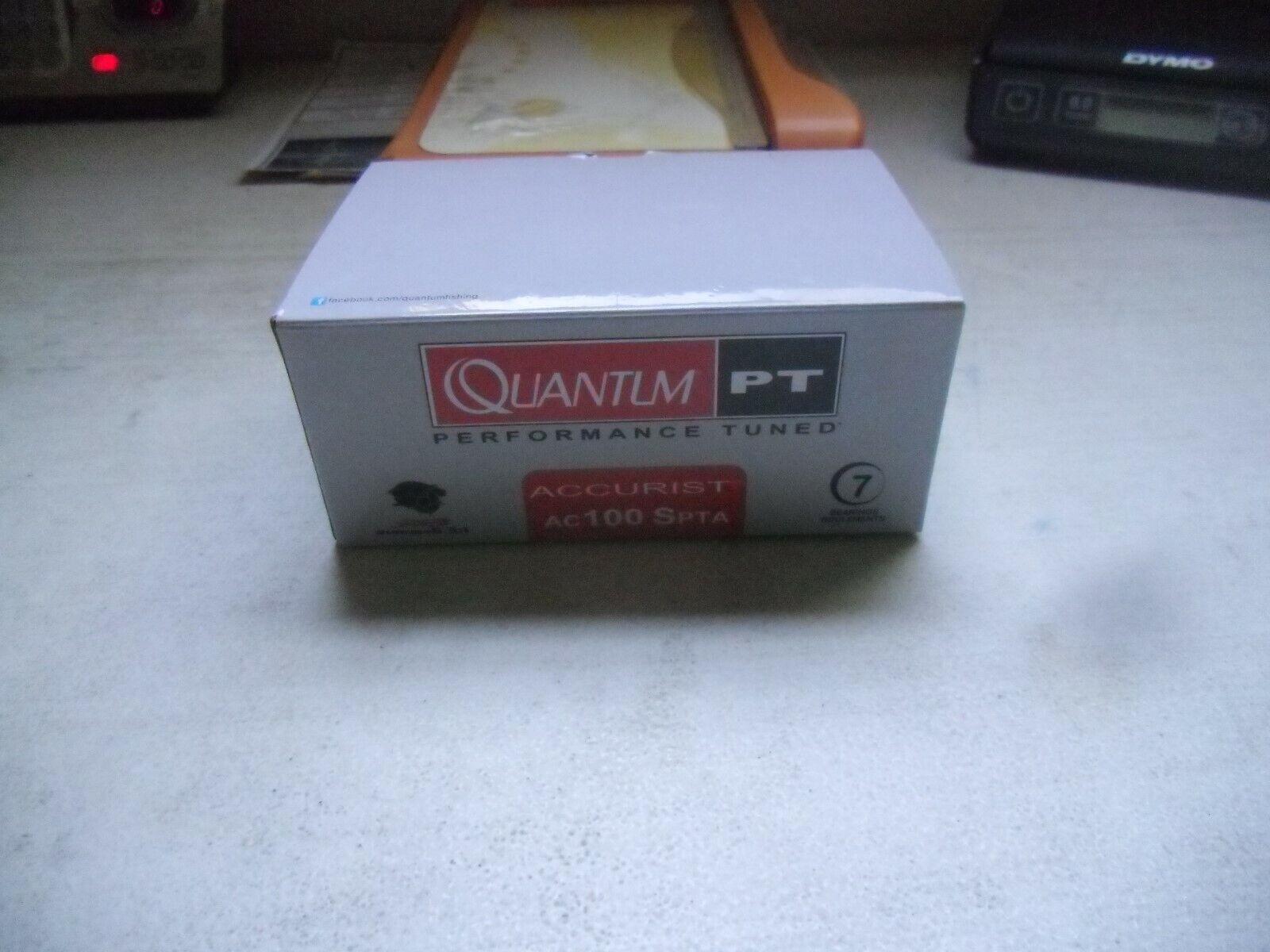 Quantum Accurist AC 100 SPTA 6.3  1 relación de transmisión mano derecha Cocherete Giratorio Nuevo