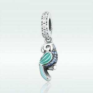 be4095e42 Image is loading Tropical-Parrot-Charm-100-925-Sterling-Silver-Pandora