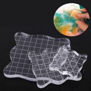 Transparent Handgefertigt Sammelalbum Klar Briefmarke Auflage DIY Werkzeuge Heiß